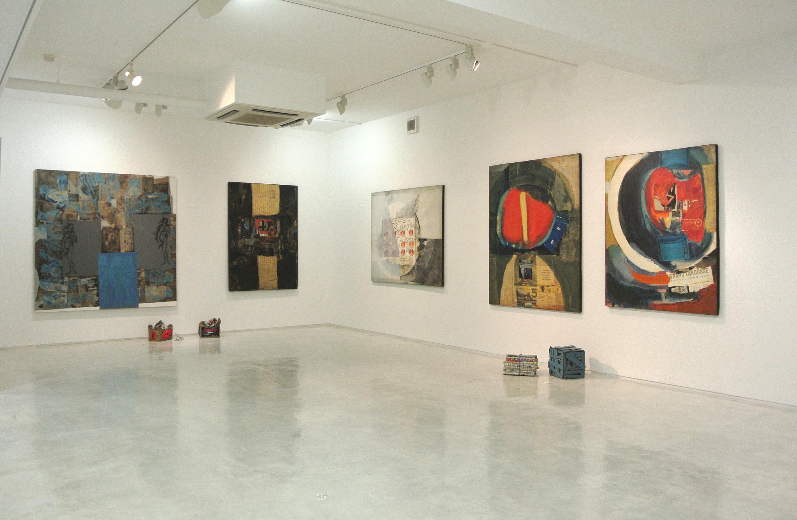 三島 喜美代 「Painting Period 1954-1970」