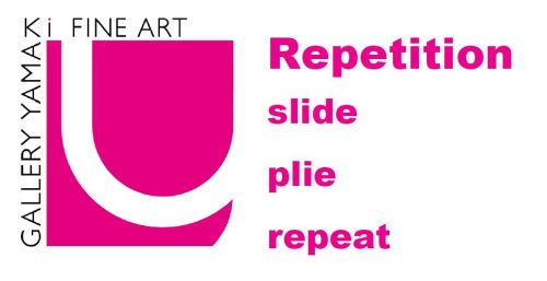 """Repetition- slide, plie, repeat-"""